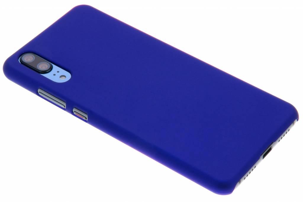 Blauw effen hardcase hoesje voor de Huawei P20