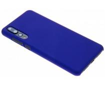 Blauw effen hardcase hoesje Huawei P20 Pro