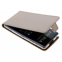 Selencia Luxe Softcase Flipcase Sony Xperia XZ2 Compact