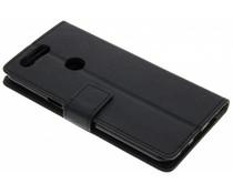 Zwart TPU Bookcase OnePlus 5T