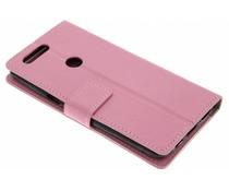 Roze TPU Bookcase OnePlus 5T