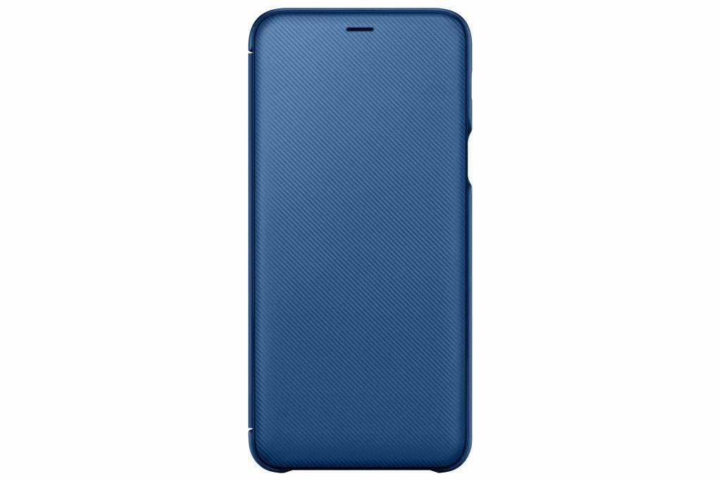 Samsung Wallet Booktype voor Samsung Galaxy A6 Plus (2018) - Blauw
