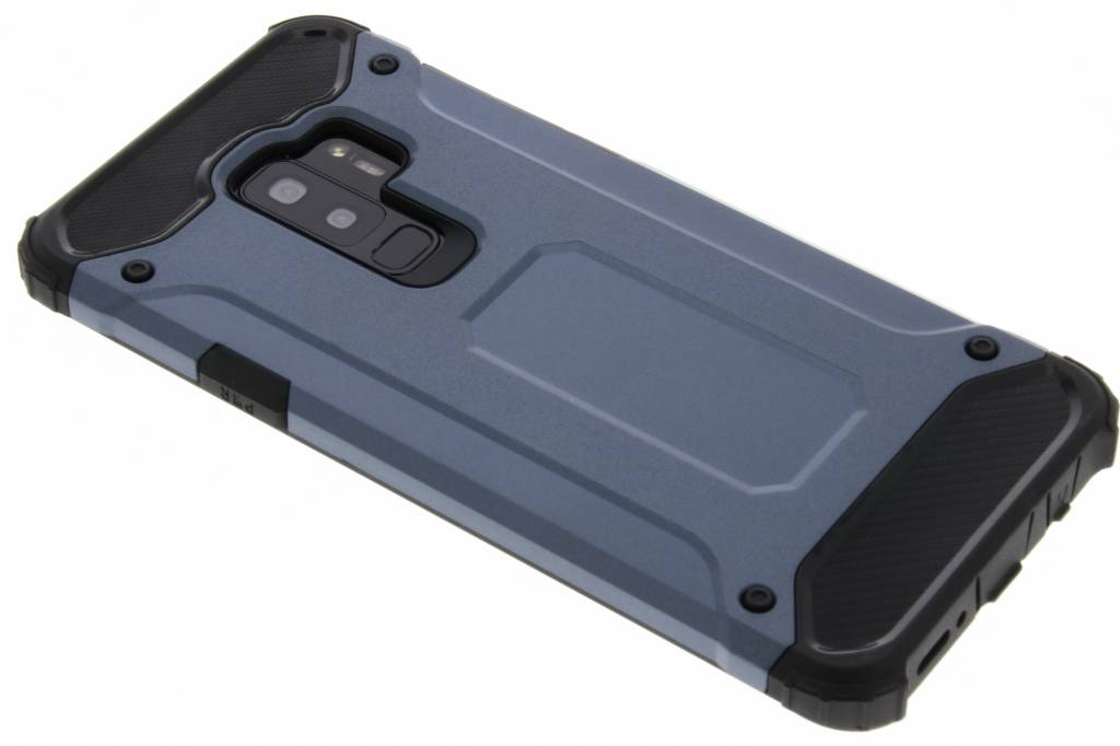 Donkerblauwe Rugged Xtreme Case voor de Samsung Galaxy S9 Plus