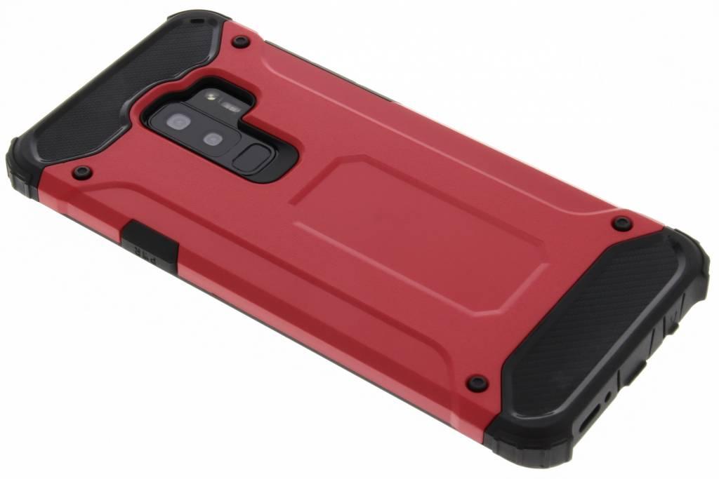 Rode Rugged Xtreme Case voor de Samsung Galaxy S9 Plus