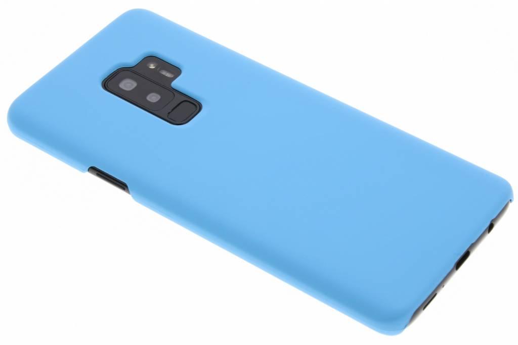 Turquoise effen hardcase hoesje voor de Samsung Galaxy S9 Plus