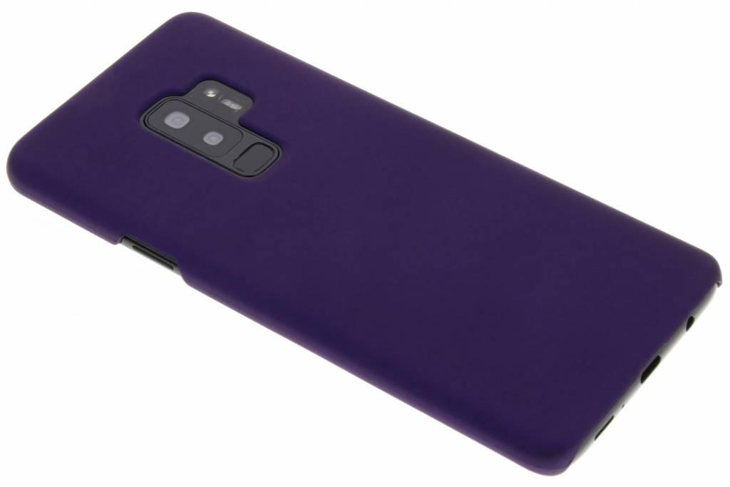 Paars effen hardcase hoesje voor de Samsung Galaxy S9 Plus