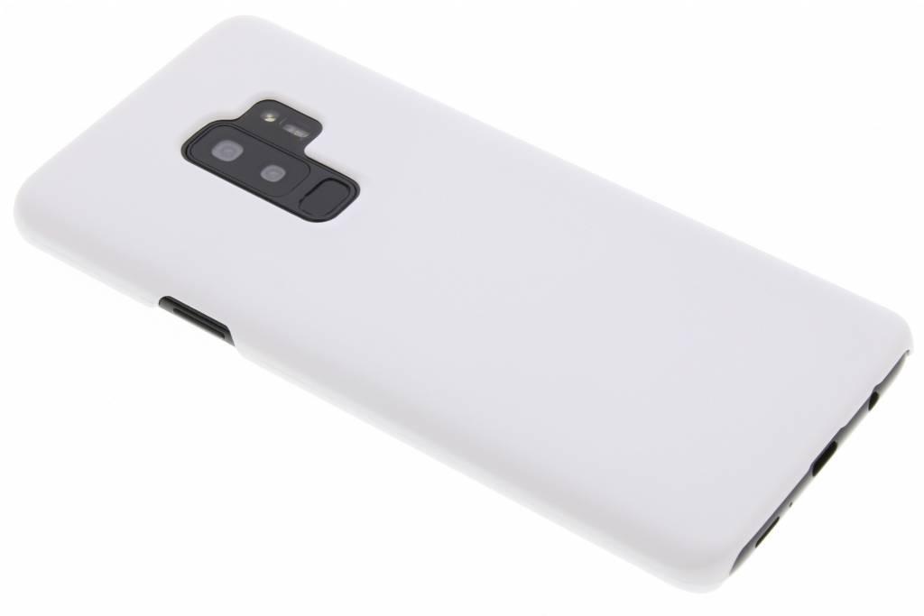 Wit effen hardcase hoesje voor de Samsung Galaxy S9 Plus
