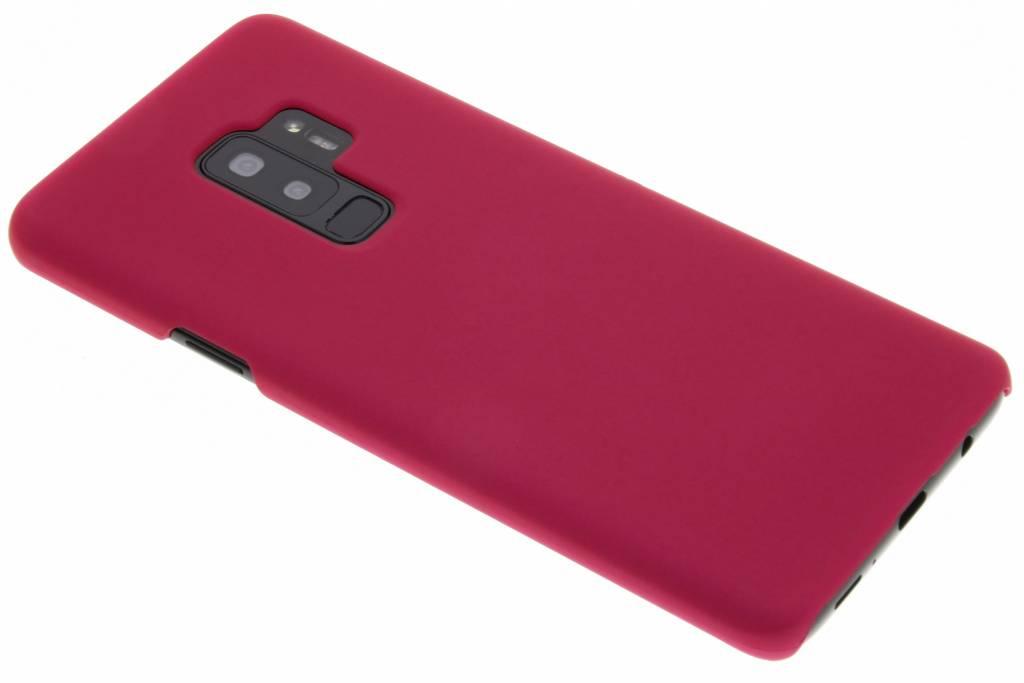 Fuchsia effen hardcase hoesje voor de Samsung Galaxy S9 Plus