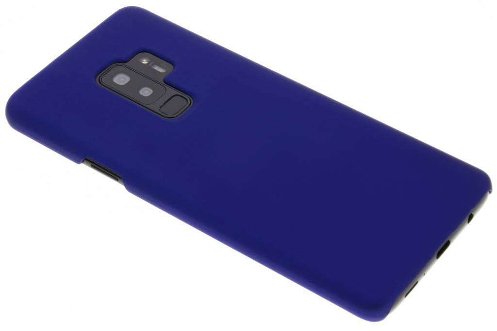 Blauw effen hardcase hoesje voor de Samsung Galaxy S9 Plus