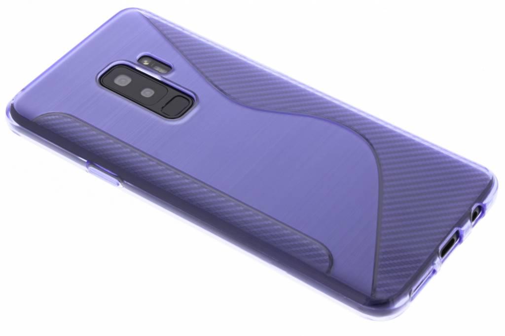 Paars S-line TPU hoesje voor de Samsung Galaxy S9 Plus