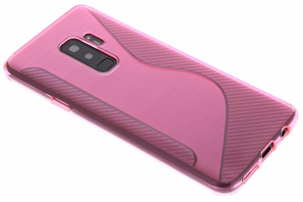 Roze S-line TPU hoesje voor de Samsung Galaxy S9 Plus