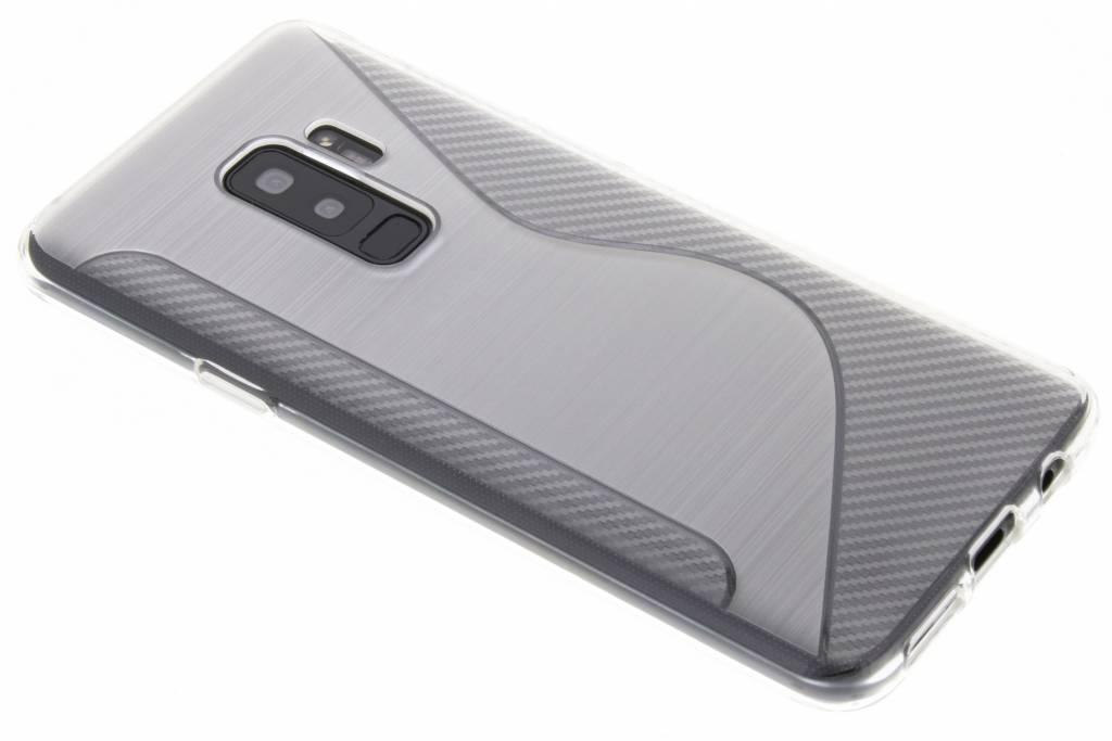 Transparant S-line TPU hoesje voor de Samsung Galaxy S9 Plus