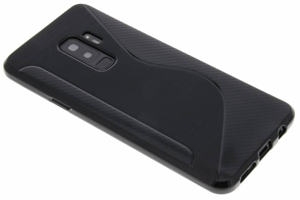Zwart S-line TPU hoesje voor de Samsung Galaxy S9 Plus