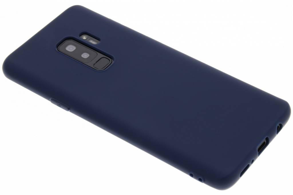 Donkerblauwe Color TPU hoesje voor de Samsung Galaxy S9 Plus