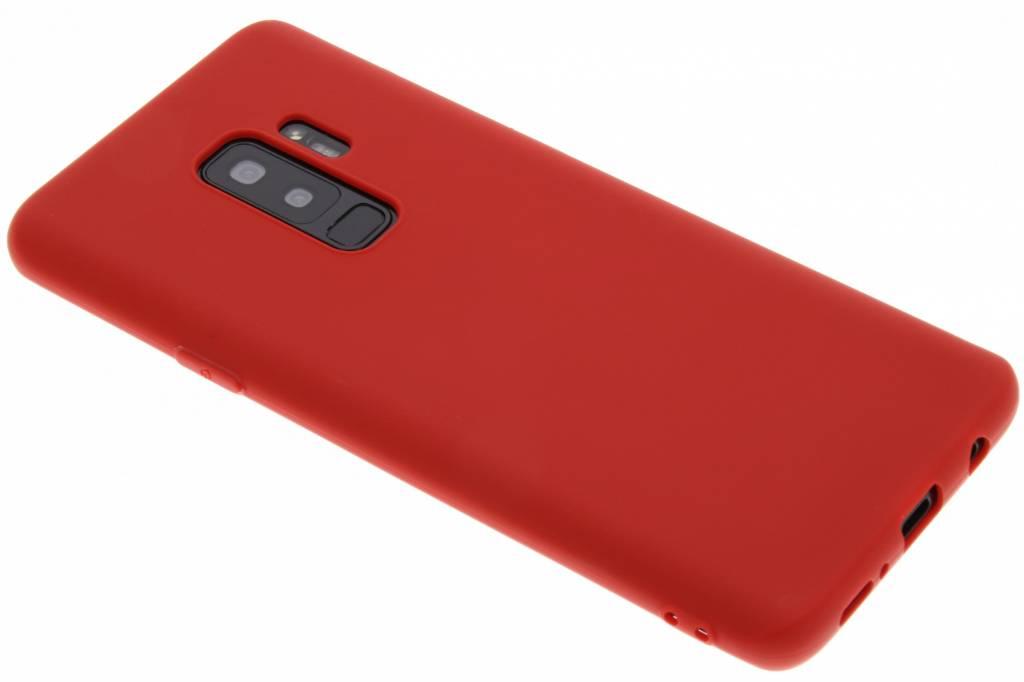 Rode Color TPU hoesje voor de Samsung Galaxy S9 Plus