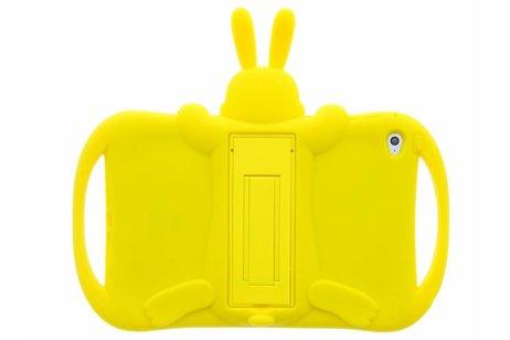 Gele konijn dieren tablethoes voor de iPad Mini 4