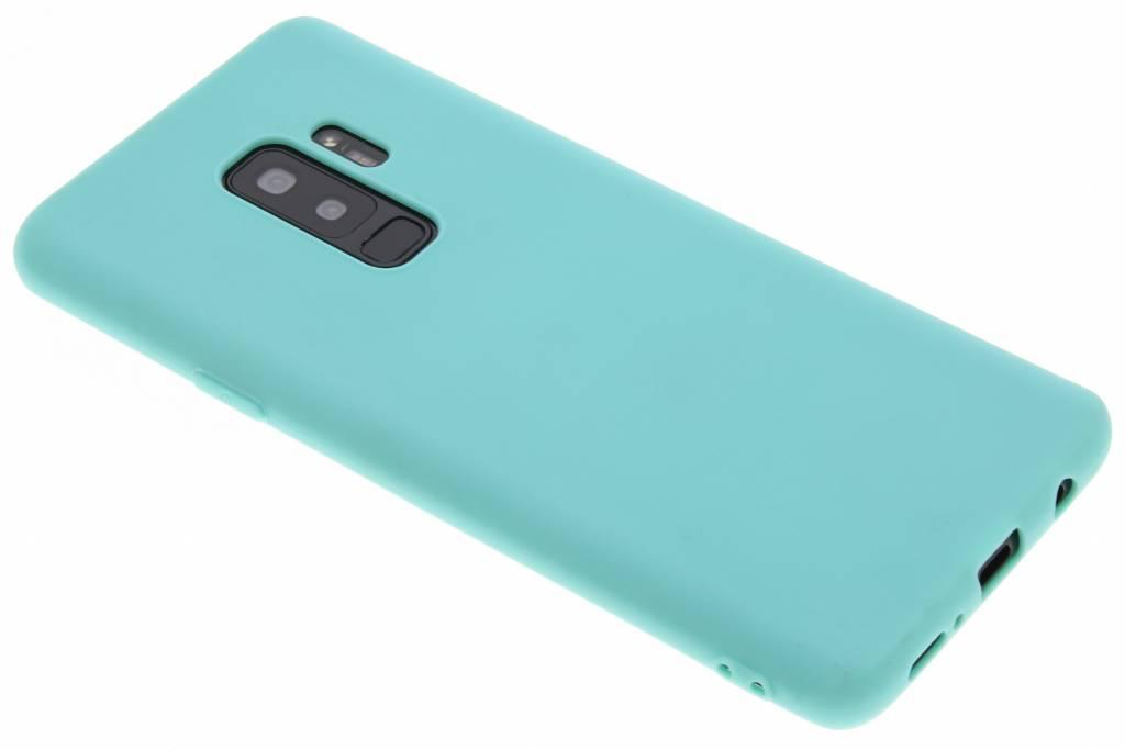 Mintgroene Color TPU hoesje voor de Samsung Galaxy S9 Plus