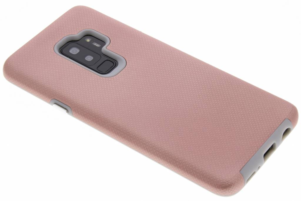 Accezz Xtreme Hardcase Backcover voor Samsung Galaxy S9 Plus - Rosé goud