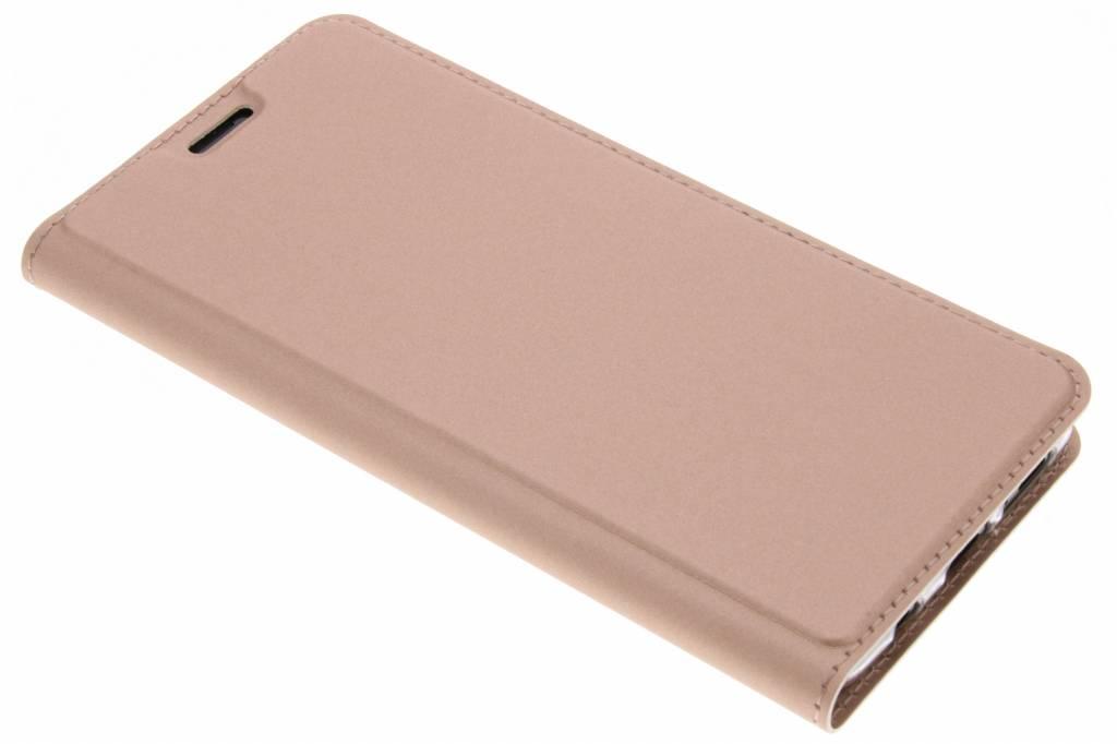 Rosé Gouden Slim TPU Booklet voor de Samsung Galaxy S9 Plus