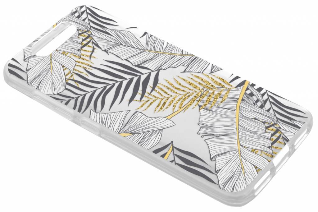 Botanic design siliconen hoesje voor de ZTE Blade V8
