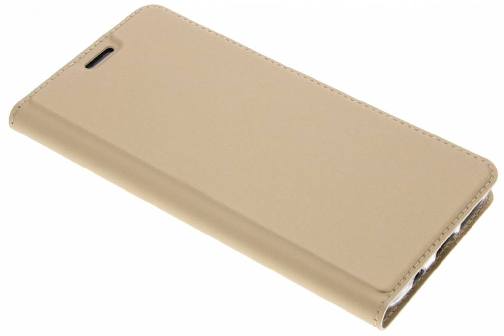Gouden Slim TPU Booklet voor de Samsung Galaxy S9 Plus