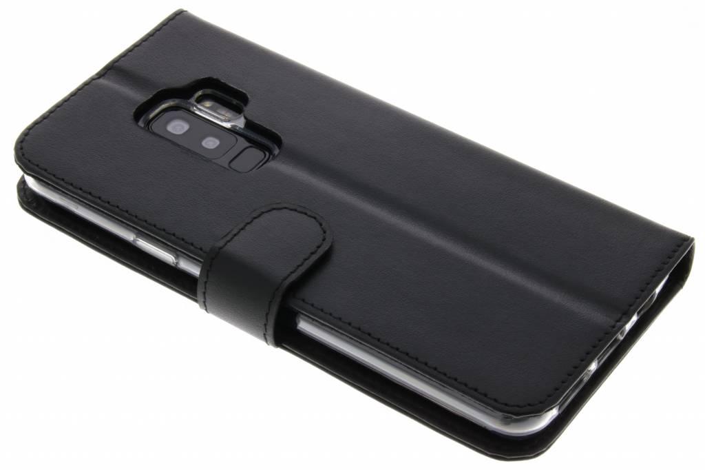 Valenta Zwarte Booklet Classic Luxe voor de Samsung Galaxy S9 Plus