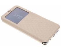 Goud Rhombus hoesje Samsung Galaxy S9 Plus