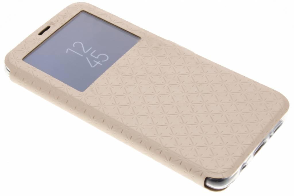 Goud Rhombus hoesje voor de Samsung Galaxy S9 Plus