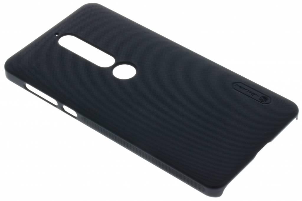 Nillkin Backcover Nokia 6 (2018) Super Frosted Shield Zwart voor 6 (2018)
