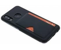 Dux Ducis Zwart Cardslot Hardcase Huawei P20 Lite