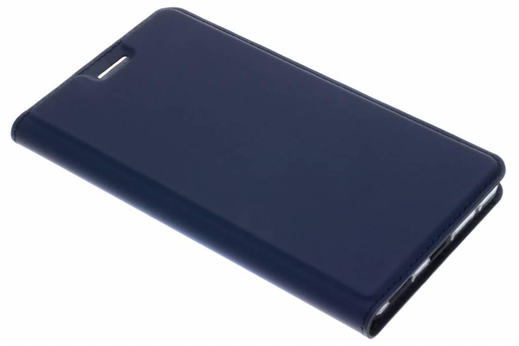 Dux Ducis Slim Softcase Booktype voor Nokia 6.1 - Donkerblauw