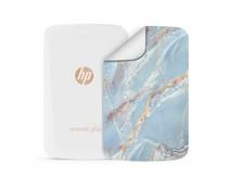 Blauw marmer design HP Sprocket Plus Skin