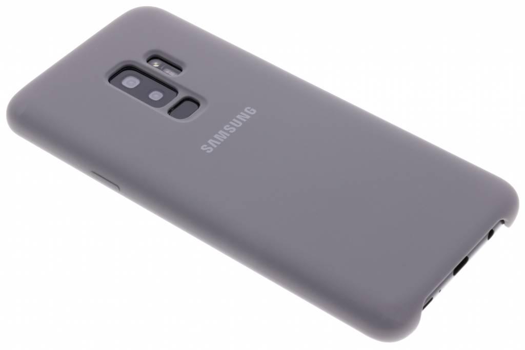 Grijze Originele Silicone Cover voor de Galaxy S9 Plus