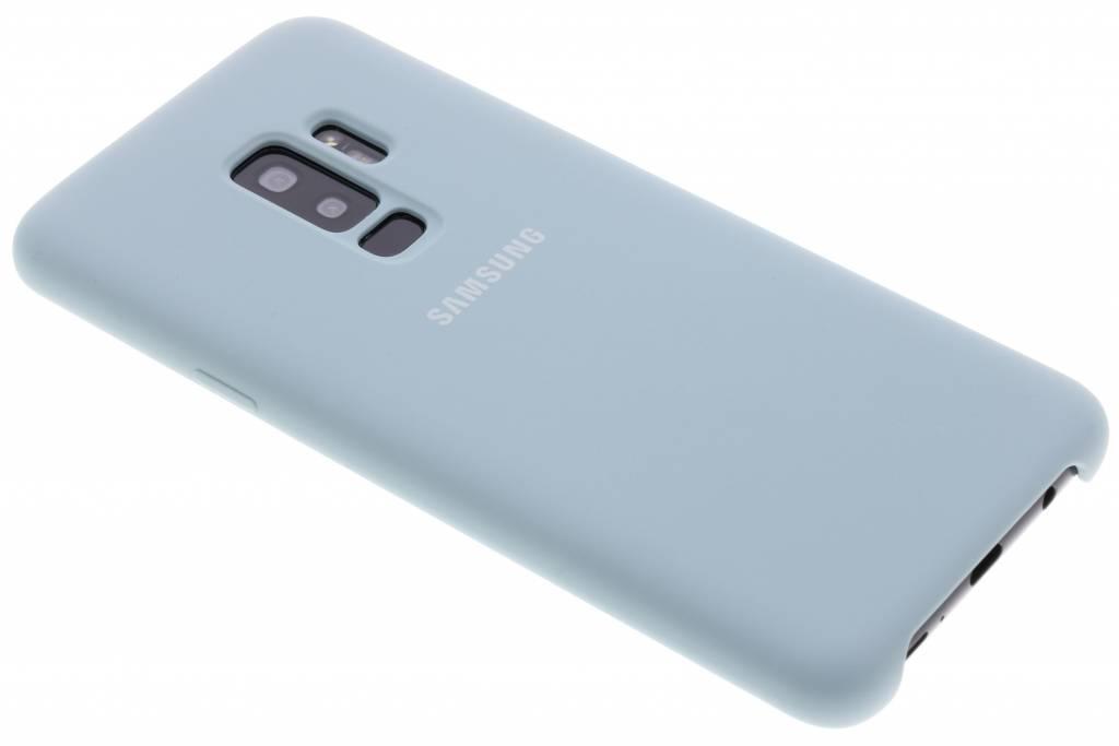 Blauwe Originele Silicone Cover voor de Galaxy S9 Plus