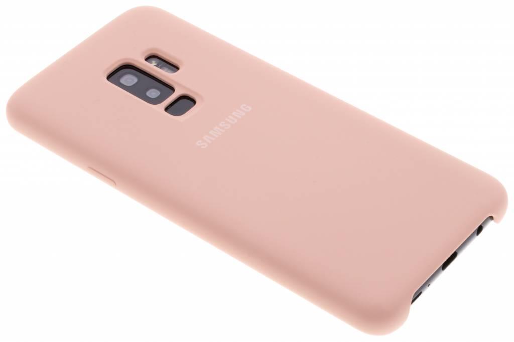 Roze Originele Silicone Cover voor de Galaxy S9 Plus