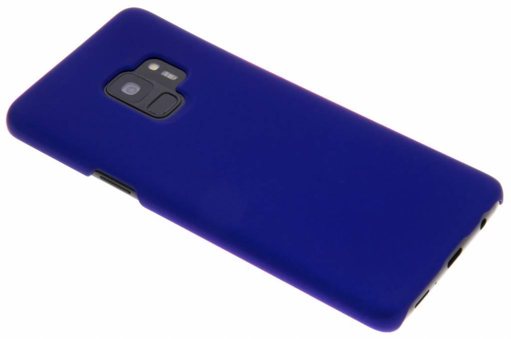 Blauw effen hardcase hoesje voor de Samsung Galaxy S9