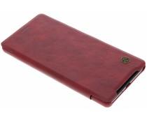 Nillkin Rood Qin Leather slim booktype Sony Xperia XZ2