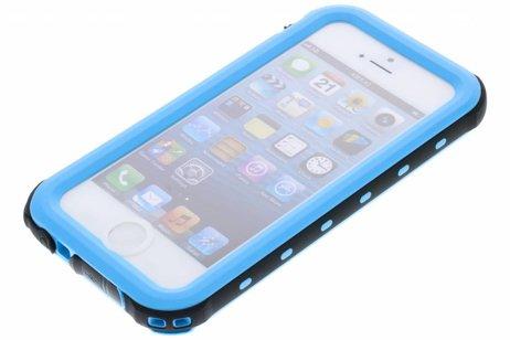 Redpepper Dot Plus Waterproof Backcover voor iPhone SE / 5 / 5s - Blauw