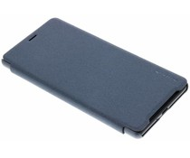 Nillkin Grijs Sparkle slim booktype hoes Sony Xperia XZ2