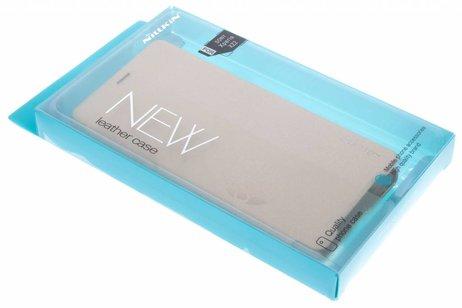 Nillkin Sparkle Slim Booktype voor Sony Xperia XZ2 - Goud