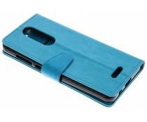 Turquoise Zakelijke Booklet Wiko View Lite
