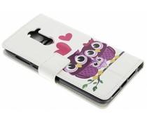 Design TPU booktype hoes Alcatel 3X