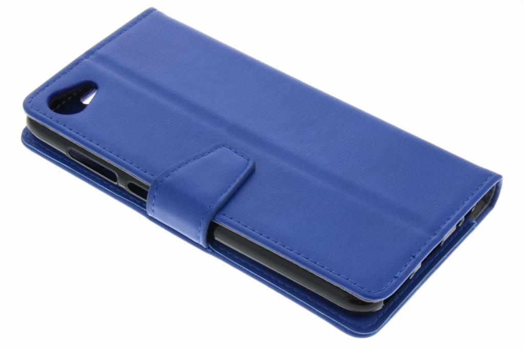 Blauwe Zakelijke Booklet voor de HTC Desire 12