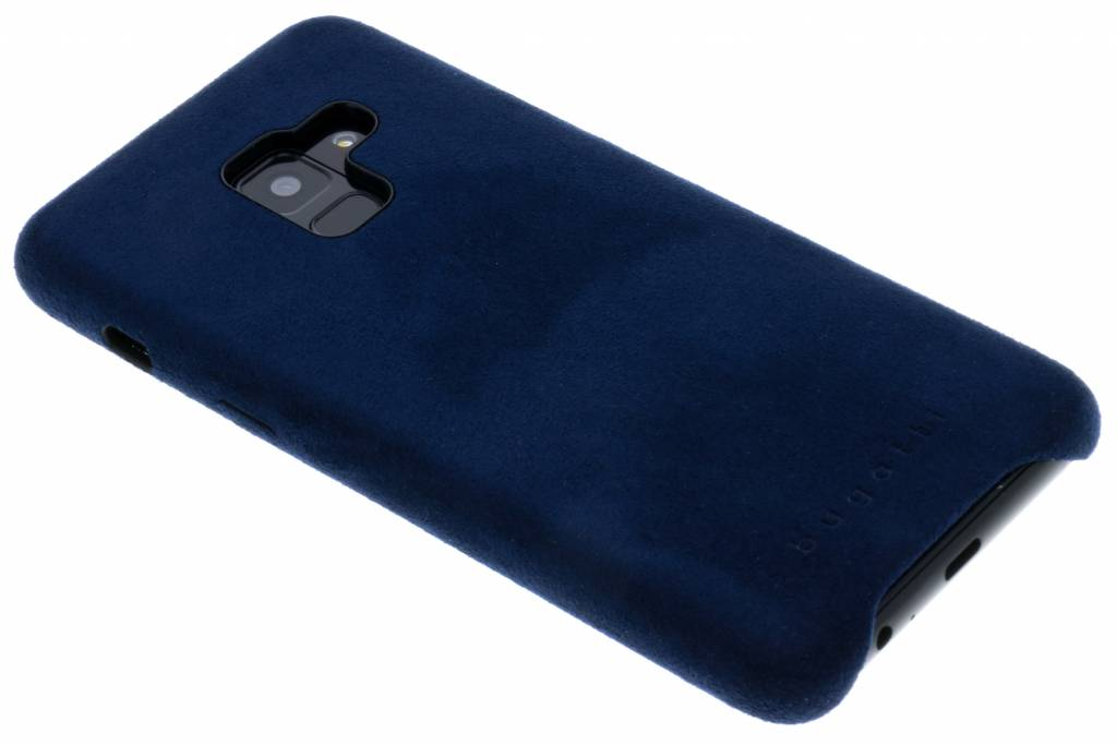 Blauwe Porto Ultrasuede® Snap Case voor de Samsung Galaxy A8 (2018)