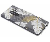 Botanic design siliconen hoesje Samsung Galaxy S9 Plus