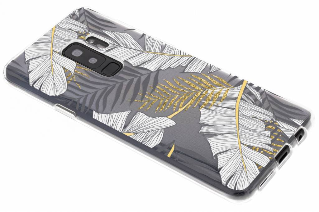 Design Backcover voor Samsung Galaxy S9 Plus - Glamour Botanic