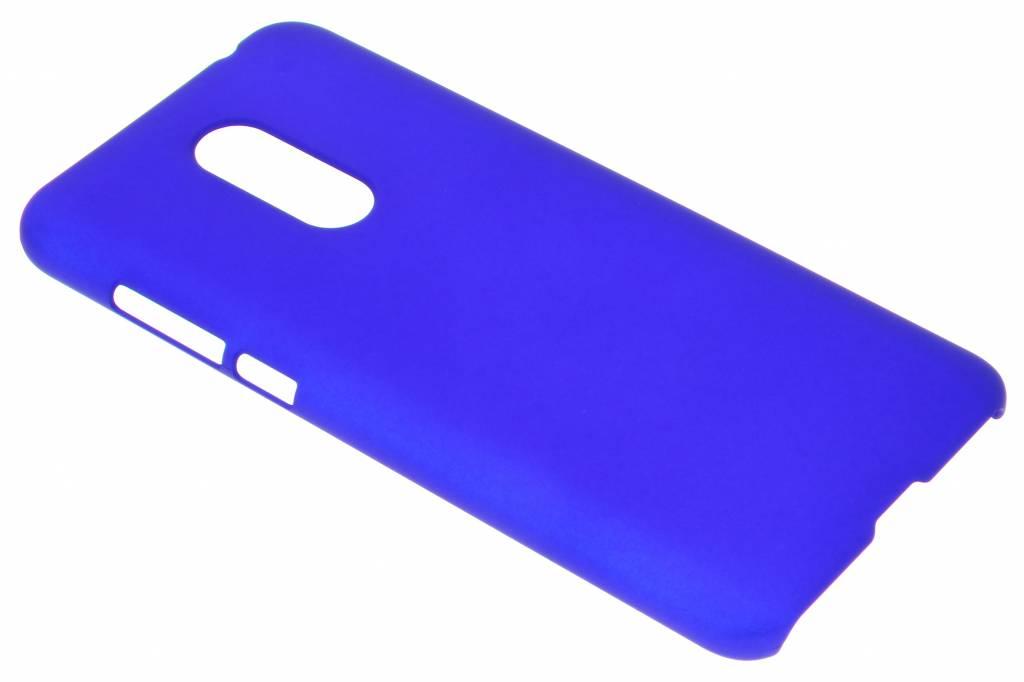 Effen Backcover voor Xiaomi Redmi 5 Plus - Blauw