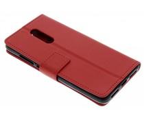 Rood TPU Bookcase Xiaomi Redmi Note 4