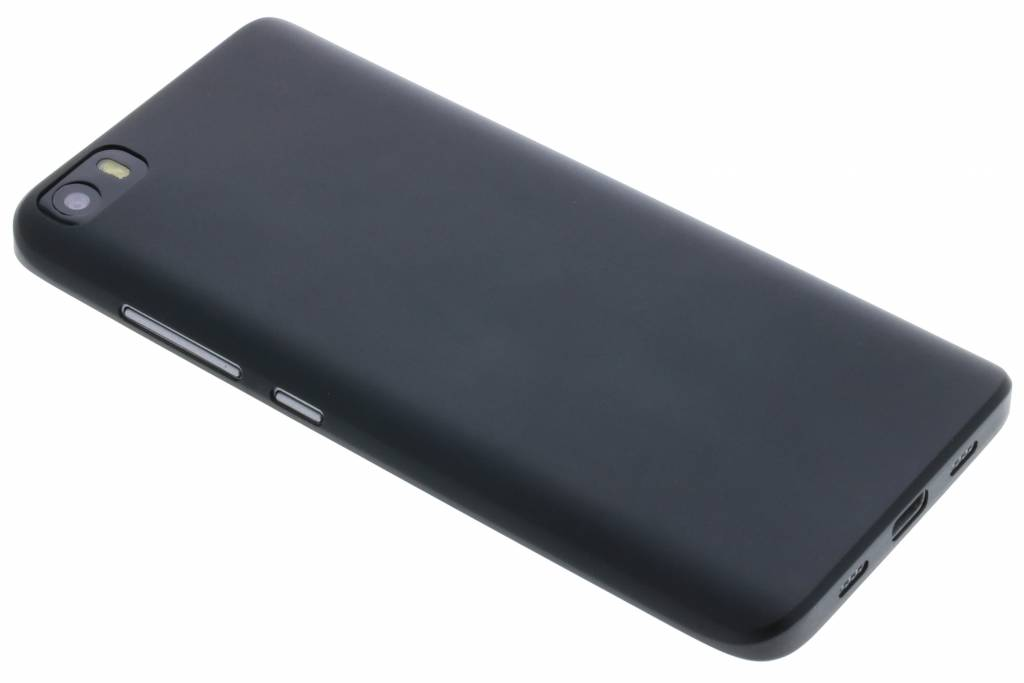 Zwart flexibel effen hoesje voor de Xiaomi Mi 5