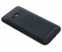 Zwart Brushed TPU case HTC U11